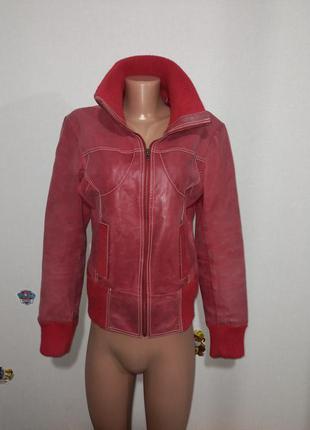 Куртка кожаная женская vero moda