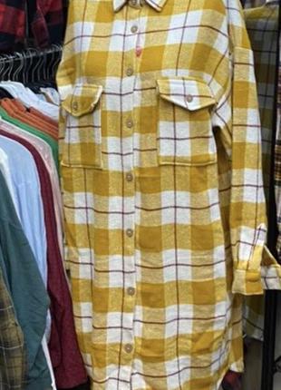 Рубашка пальто
