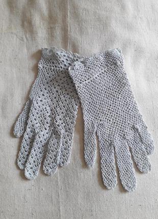 Винтаж перчатки ручная работа