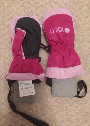 Дитячі рукавички на 1 рік
