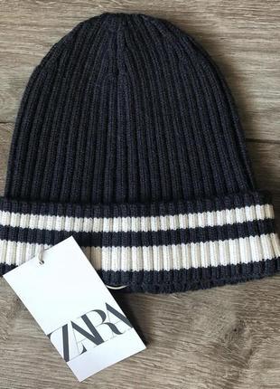 Zara шапка