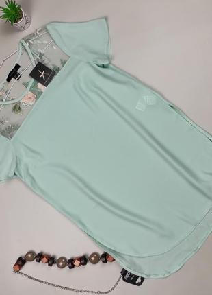 Блуза новая красивая легкая uk 8/36/xs