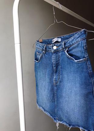 Базовая джинсовая юбка zara