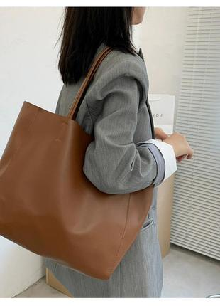 1 шт в наличии коричневая сумка
