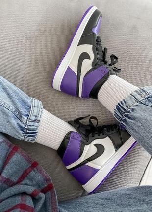 Кросівки nike air jordan purple