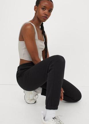 Базовые джоггеры штаны h&m стильные новая коллекция