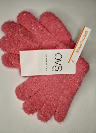 ❄️пухнасті рукавички від італійського бренду❄️