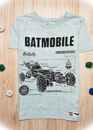 Футболка бетман, batman, футболка серая