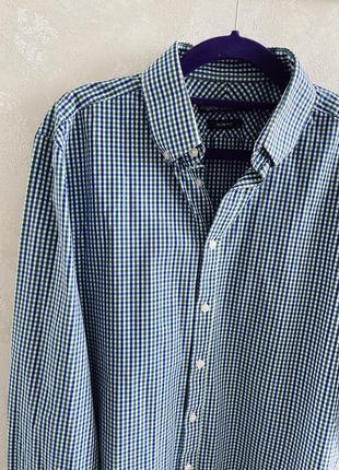 Итальянская мужская рубашка в клетку