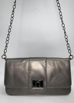 Англия! кожаная фирменная сумочка на/ через плечо hotter.