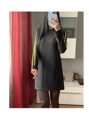 Платье свишот сукня