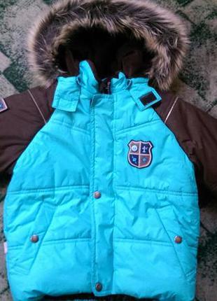 Зимняя куртка-пуховик lenne р.98