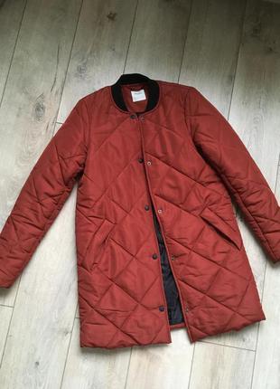 Стёганный плащ,куртка vero moda