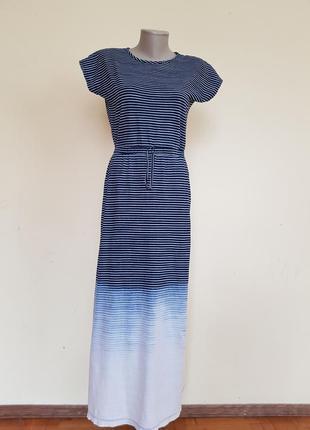 Классное трикотажное длинное платье 13-14 лет george