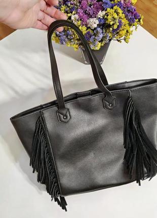❤️ сумка с бахромой