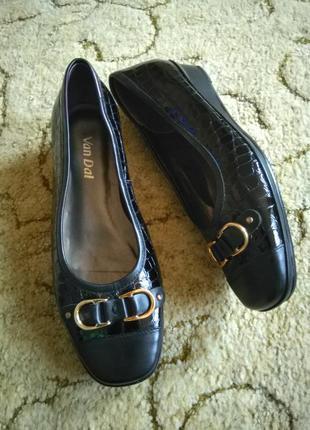 Кожаные туфли van dal (100% кожа)