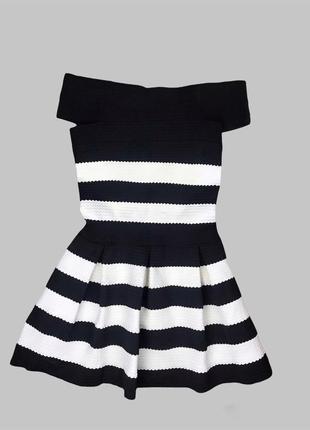 Стильное бандажное платье в стиле zara mango