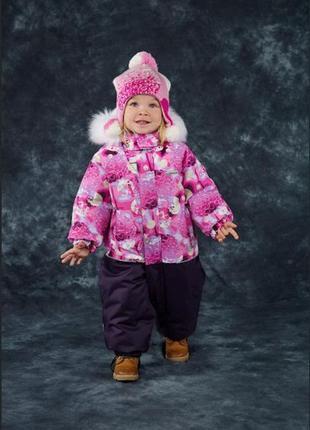 Зимний комбинезон для девочки lenne fun размер 86 бесплатная доставка