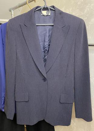 Пиджак блейзер жакет на одну пуговицу akris