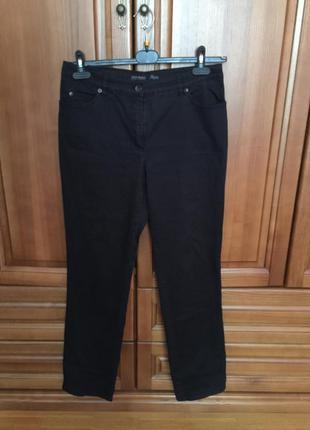 Брюки чёрные gerry weber размер евро 44 модель roxy