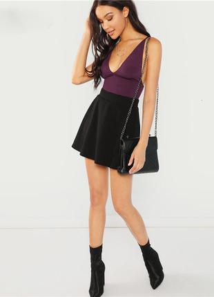 Стильная юбка из фактурной ткани new look