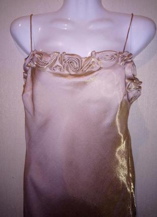 🌺 🌿 🍃 шикарное вечернее платье в пол р.46 лондон 🍃🌿🌺