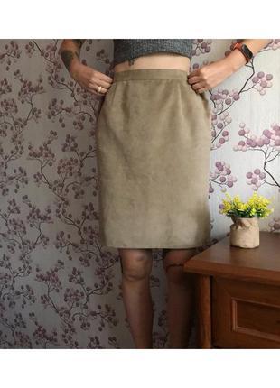 Стильная юбка карандаш офисная m-l
