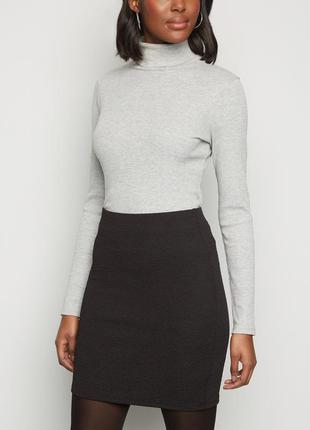 Женская юбка из фактурной ткани new look