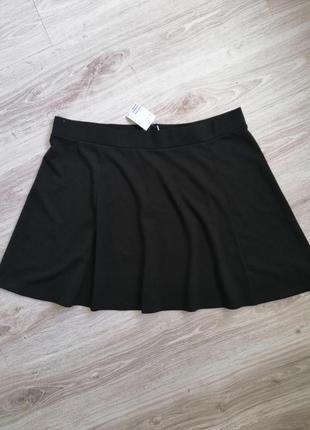 Спідниця юбка чорного кольору розмір виробника 2хл,нова з біркою 💜