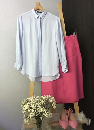 Шифонова блуза mango