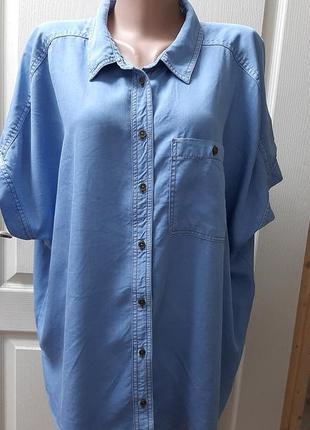 💙💖💜 чудесная рубашечка из лиоцела