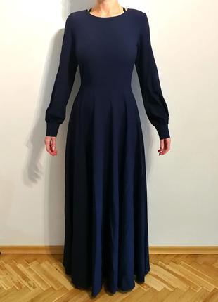 Стильное платье макси от бренда vovk на девушку m/l размера