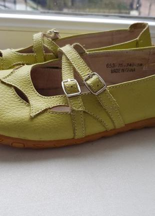 Качественные кожаные туфли лёгкие и удобные