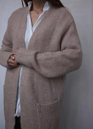 Кардиган кофта шерстяной альпака