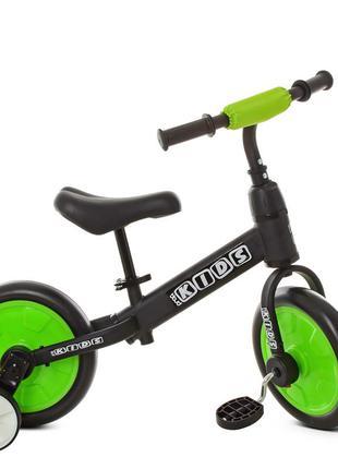 Беговел велосипед 2 в 1 profi kids м 5452