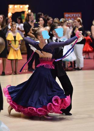 Платье для стандарта в бальных танцах, р. 150-160