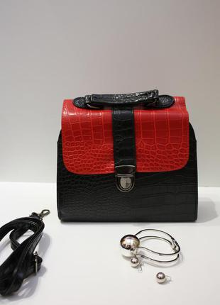 Шикарная чёрная сумка sale