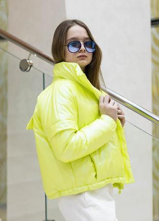 Куртка деми на силиконе 2 цвета