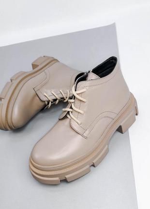 Шкіряні жіночі черевики.  виробник україна 💙💛