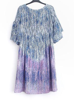 Легкое нежное платье оригинальной расцветки