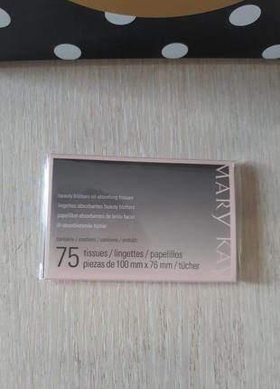 Серветки з матуючим ефектом mary kay®  75 шт. в упаковці