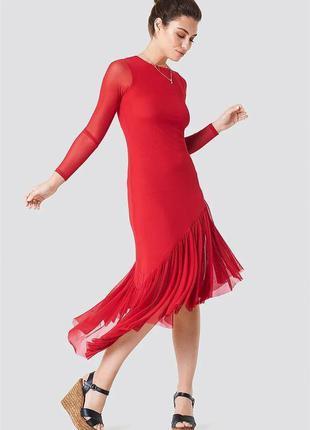 Новое платье макси na-kd👗скидка.