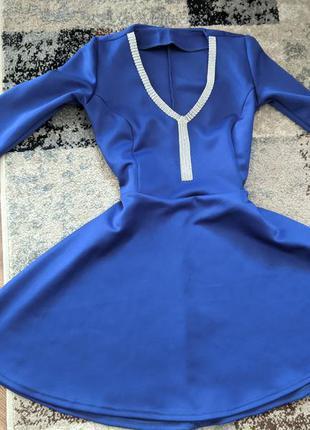 Платье 👗 синне, миди, короткое