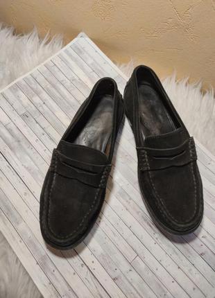 Туфли лоферы  мокасины черевики кожа туфлі uk 36.5 36 tod's