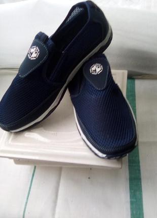 Туфли мужские сетка 26.5 см новые