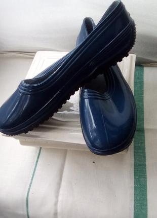 Литма туфли резиновые женские 26.7 см новые