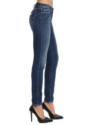 Женские джинсы armani jeans оригинал, прямые, скинни, мом