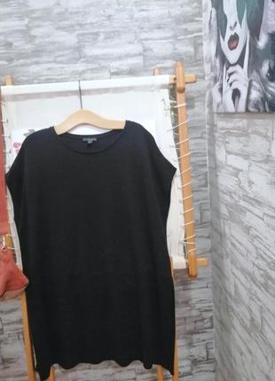Чёрная блуза туника cos