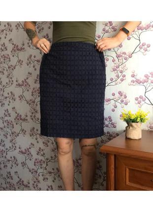 Красивая юбка с прошвой винтаж 14-42/xl