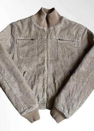 Винтажный вельветовый бомбер куртка жакет vintage velour jacket